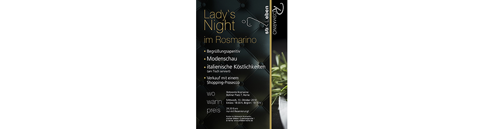 Ladies Night 10.10.